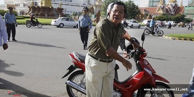 O Ülkenin Başbakanına Trafik Cezası !