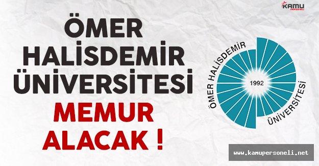 Ömer Halisdemir Üniversitesi avukat (memur) alımı yapacak