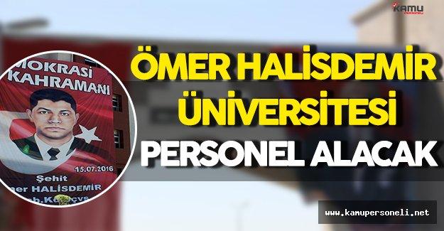 Ömer Halisdemir Üniversitesi Personel Alacak