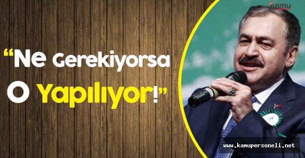 """Orman Bakanı :"""" Son Terörist Etkisiz Hale Gelinceye Kadar"""""""