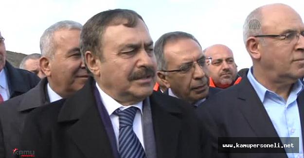"""Orman ve Su İşleri Bakanı Eroğlu: """"Kumluca'daki yangını ..."""""""