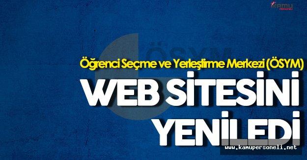 ÖSYM Web Sitesini Yeniledi!