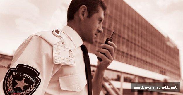 Özel Güvenlik Personeli Alım İlanı