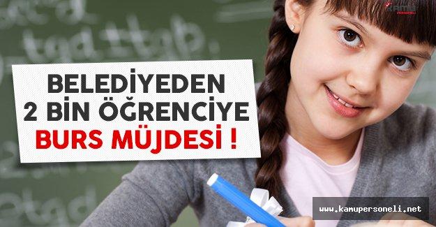 Pamukkale Belediyesi'nden 2 bin öğrenciye burs müjdesi