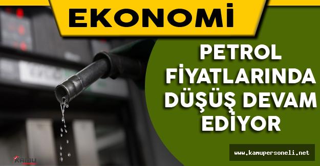 Petrol Fiyatlarında Düşüş devam Ediyor