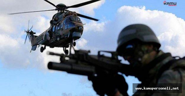 PKK'ya 12 Bölgede Dev Operasyon