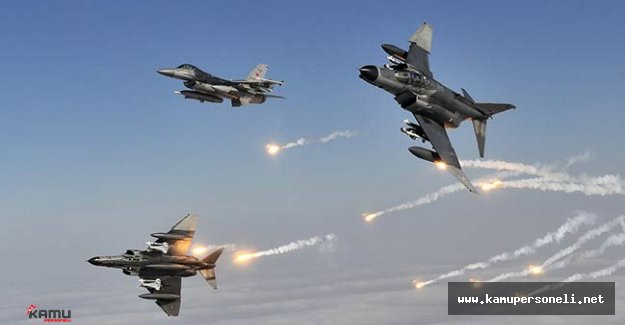 PKK'ya Hava Operasyonu : 12 Terörist Etkisiz Hale Getirildi