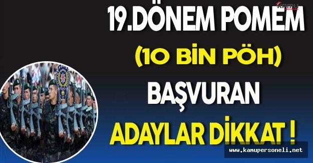 PÖH Adaylarına Polis Akademisinden Önemli Son Dakika Duyurusu !