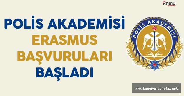 Polis Akademisi 2016-2017 Güz Dönemi Erasmus Başvuruları Başladı !