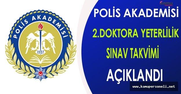 Polis Akademisi 2.Doktora Yeterlilik Sınav Takvimi Açıklandı