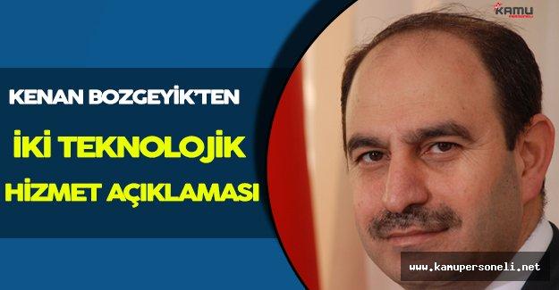 PTT Genel Müdürü Kenan Bozgeyik'ten İki Önemli Teknolojik Açıklama