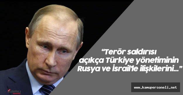 Putin'den Terör Saldırısı Sonrası Taziye Mesajı