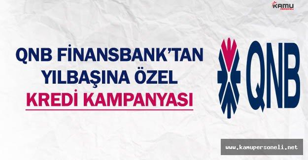 QNB Finansbank'tan Yılbaşına Özel Kredi Kampanyası