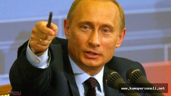 Rusya Lideri Putin Dünya'da İşlenen Suçlar Hakkında Konuştu