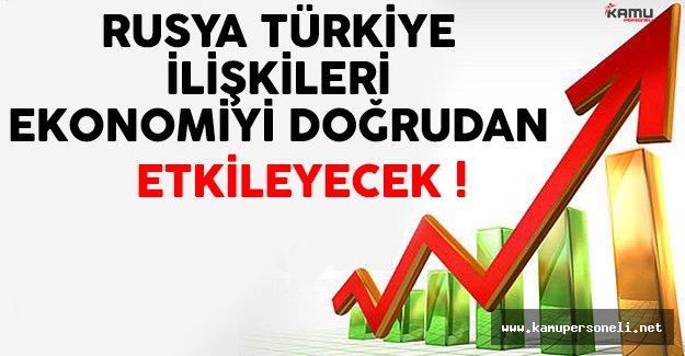 Rusya Türkiye İlişkileri Ekonomimizi Doğrudan Etkileyecek !