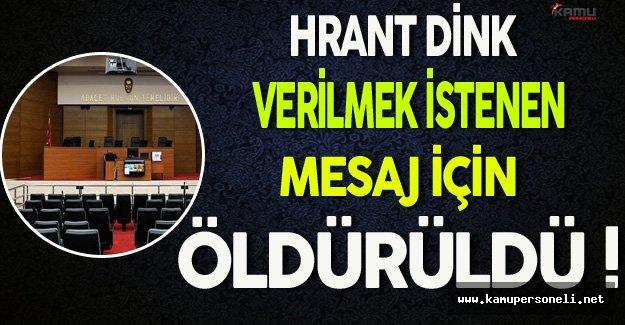 Sabri Uzun'dan Hrant Dink Cinayeti Hakkında Önemli Açıklama