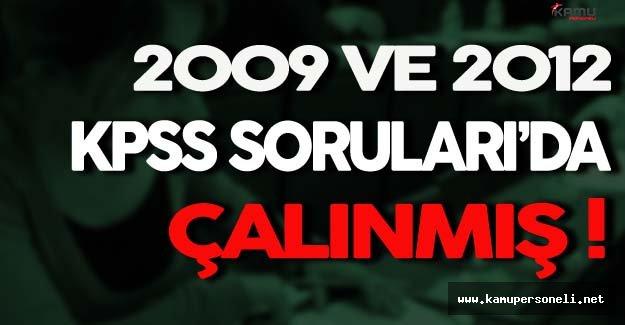 Sadece 2010 Değil, 2009 ve 2012 KPSS'nin Soruları'da Sızdırılmış