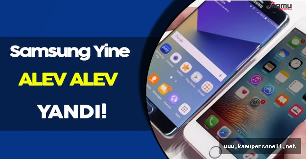 Samsung Yine Alev Alev!