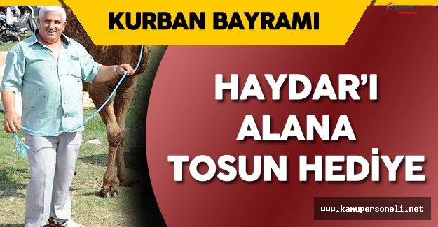 Samsunlu Besici 'Haydar 'ı Alana Tosun Hediye Kampanyası' Başlattı