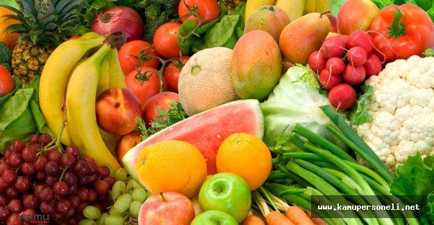 Sebze ve Meyve Fiyatları Düştü
