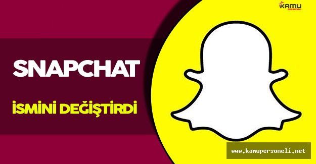 Snapchat İsim Değişikliğine Gitti!