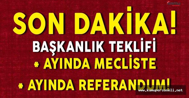 Son Dakika: AKP' li Hayati Yazıcıdan Başkanlık Sistemi İçin Referandum Tarihi !
