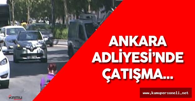 Son Dakika: Ankara Adliyesi'nde Çatışma Yaşandı - Şüpheli Öldürüldü