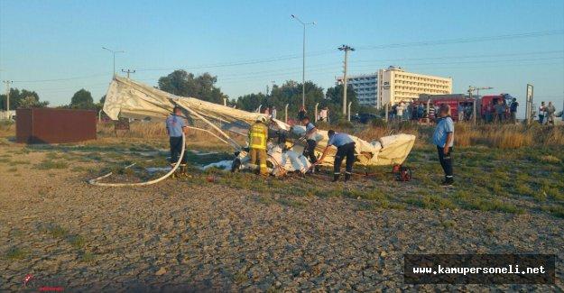 Son Dakika: Balıkesir'de Uçak Düştü 2 Ölü