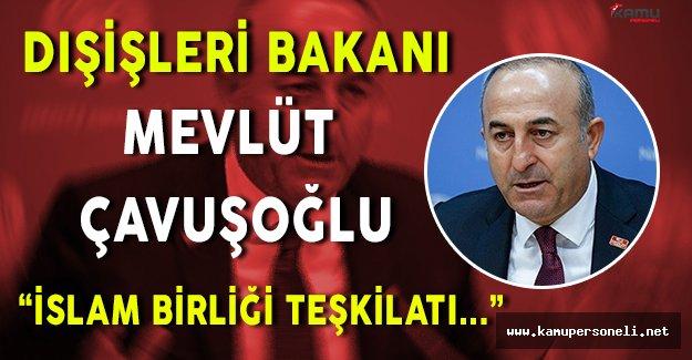 Son Dakika: Dışişleri Bakanı Mevlüt Çavuşoğlu' ndan Önemli Açıklama