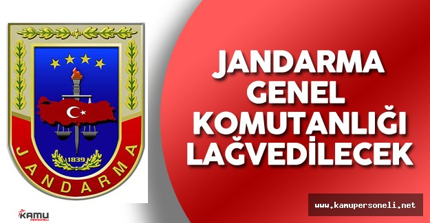 Efkan Ala Açıkladı: Jandarma Genel Komutanlığı Lağvedilecek!