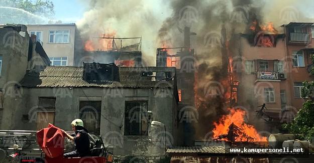 Son Dakika!! Fatih'te Yangın Çıktı