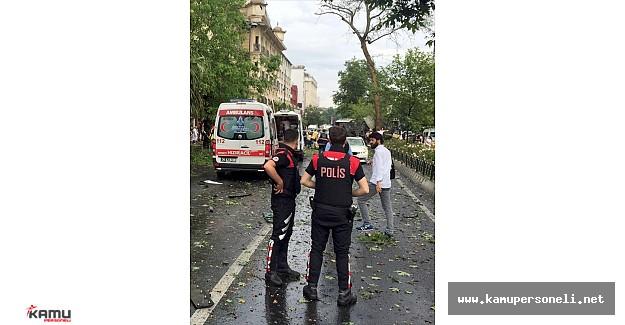 Son Dakika: İstanbul Beyazıt'da Patlama Meydana Geldi !  7 Polis Şehit Düştü