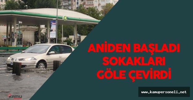 Son Dakika: İstanbul'da Sağanak Yağış Hayatı Olumsuz Etkiledi