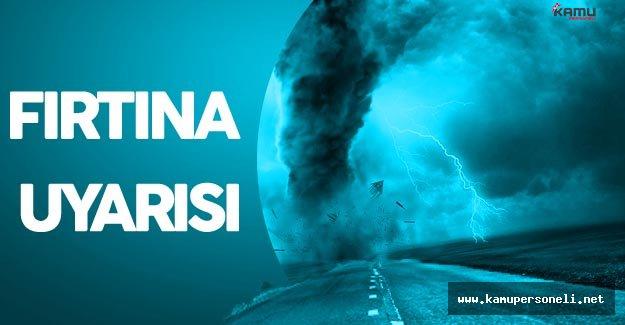 Son Dakika : Meteoroloji'den Ordu için Fırtına Uyarısı !