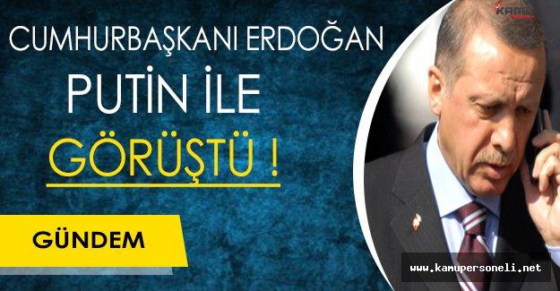 Son Dakika: Putin İle Recep Tayyip Erdoğan Görüştü
