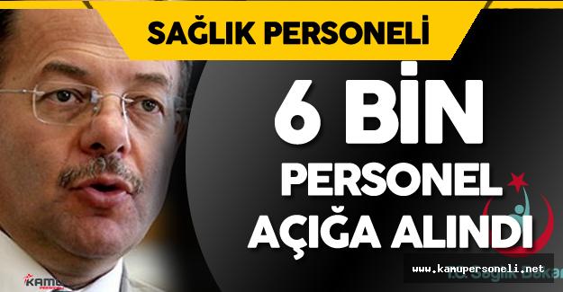 Son Dakika : Sağlık Bakanı Açıkladı 6 Bin Personel Açığa Alındı