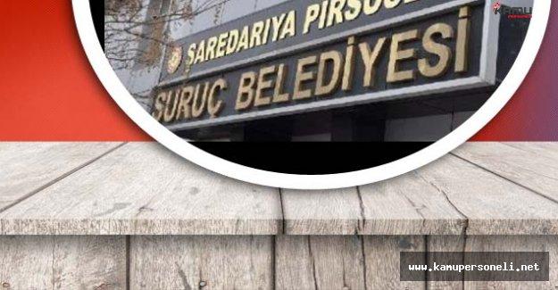 SON DAKİKA ! Suruç Belediyesi'nde Arama Başlatıldı