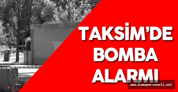 Son Dakika: Taksim'de Bomba Alarmı ! Taksim Metrosu Kapatıldı