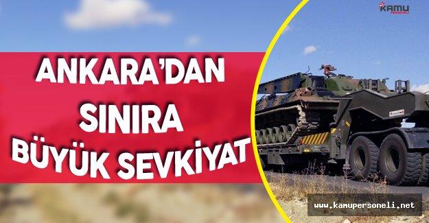 Son Dakika: Tanklar Ankara'dan Silopi'ye Harekete Geçti