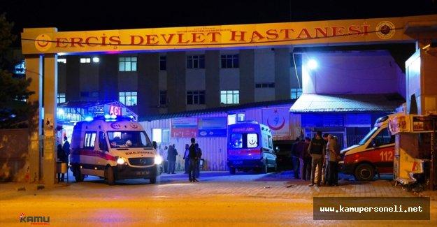 Son Dakika!! Van'da Bombalı Saldırı: 2 Şehit 10 Yaralı