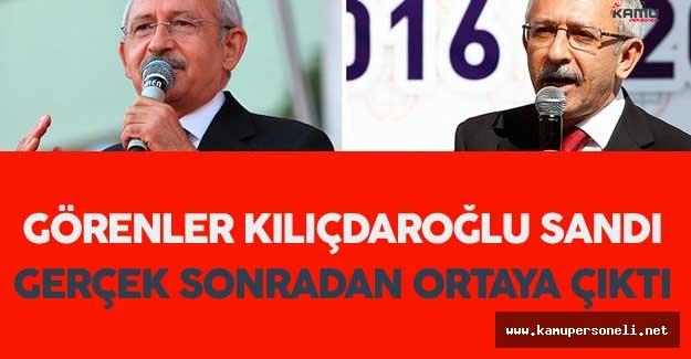 Sosyal Medyanın Gündemine Oturdu ! Görenler Kılıçdaroğlu Sandı Ama...