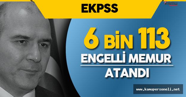 """Süleyman Soylu: """" 6 bin 113 Engelli Memur Ataması Yapıldı"""""""