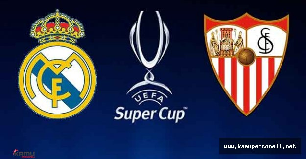 Süper Kupa Real Madrid'in Oldu