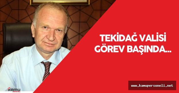 Tekirdağ Valisi  Mehmet Ceylan Görevine Başladı