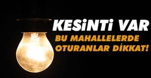 İstanbul 13 Temmuz Elektrik Kesintisi (Kesinti Yerleri ve Kesinti Saatleri)