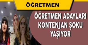 15000 Kontenjanın Yarısı 3 Branşa Dağıtıldı! Öğretmen Adayları Şokta