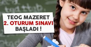 18 Aralık 2016 TEOG Mazeret 2. Oturum Sınavı Başladı