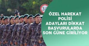 19.POMEM Özel Harekat Polisi Başvuruları e-Devlet Üzerinden Devam !
