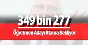 2015 KPSS Sonuçlarına Göre 349 bin 277 Öğretmen Atama Bekliyor