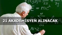 Aksaray Üniversitesi Akademik Personel Alımı